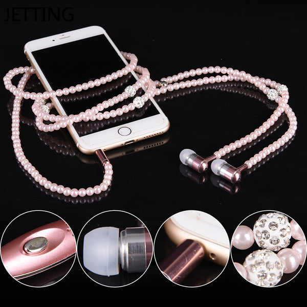 Luxury Pearl Earphones