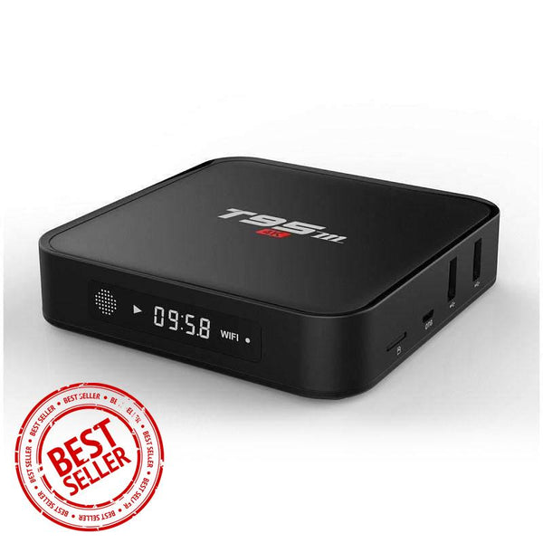 Smart TV Box - T95M 4K HD - Make Your TV Smart, Watch TV and Movie - 4K Ultra HD Home Theater Box with T95m
