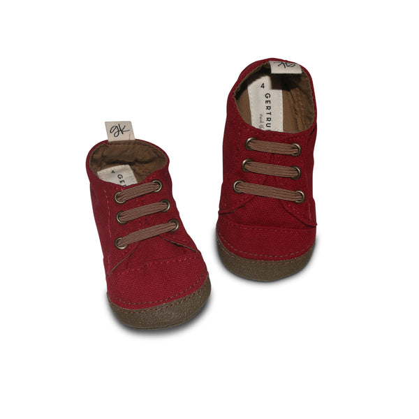 Cranberry Soft Sole Sneakers - PREORDER - Gertrude and the King