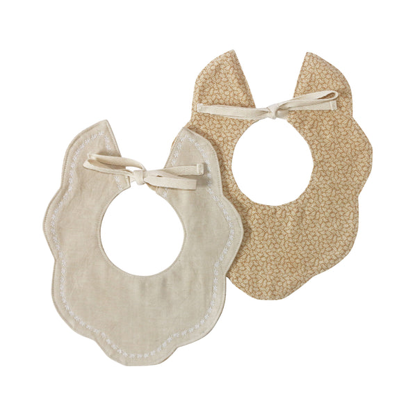 Claire Luxe Collared Bib - Gertrude and the King