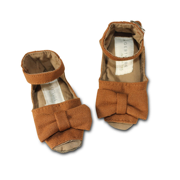 Desert Peep Toe Soft Sole Shoes - Gertrude and the King