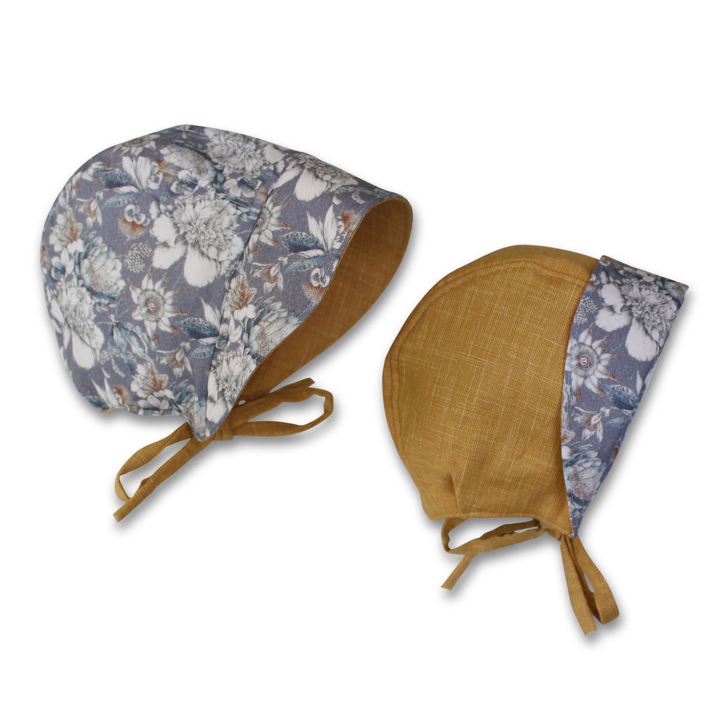 Fleur Reversible Bonnet - Gertrude and the King