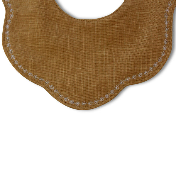 Fleur Luxe Bib - last one! - Gertrude and the King