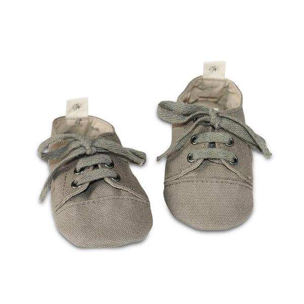 Stone Soft Sole Sneakers - only Sizes 4 & 7 available - Gertrude and the King