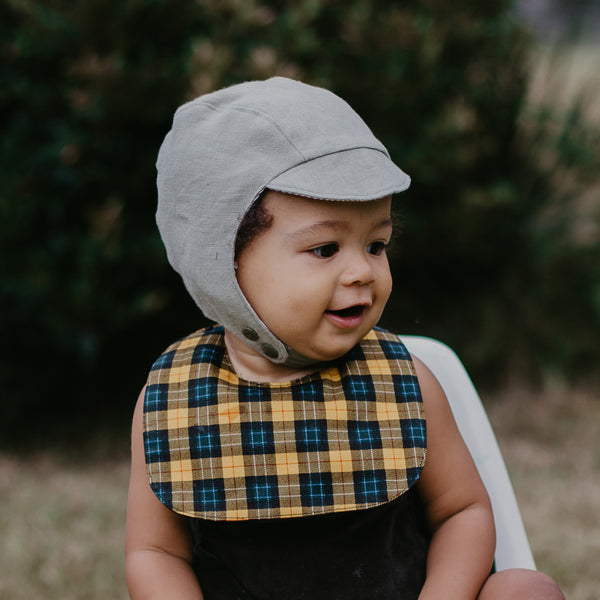 Hunter baby and toddler Aviator Hat - Gertrude and the King