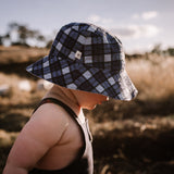 Reversible baby and toddler hat