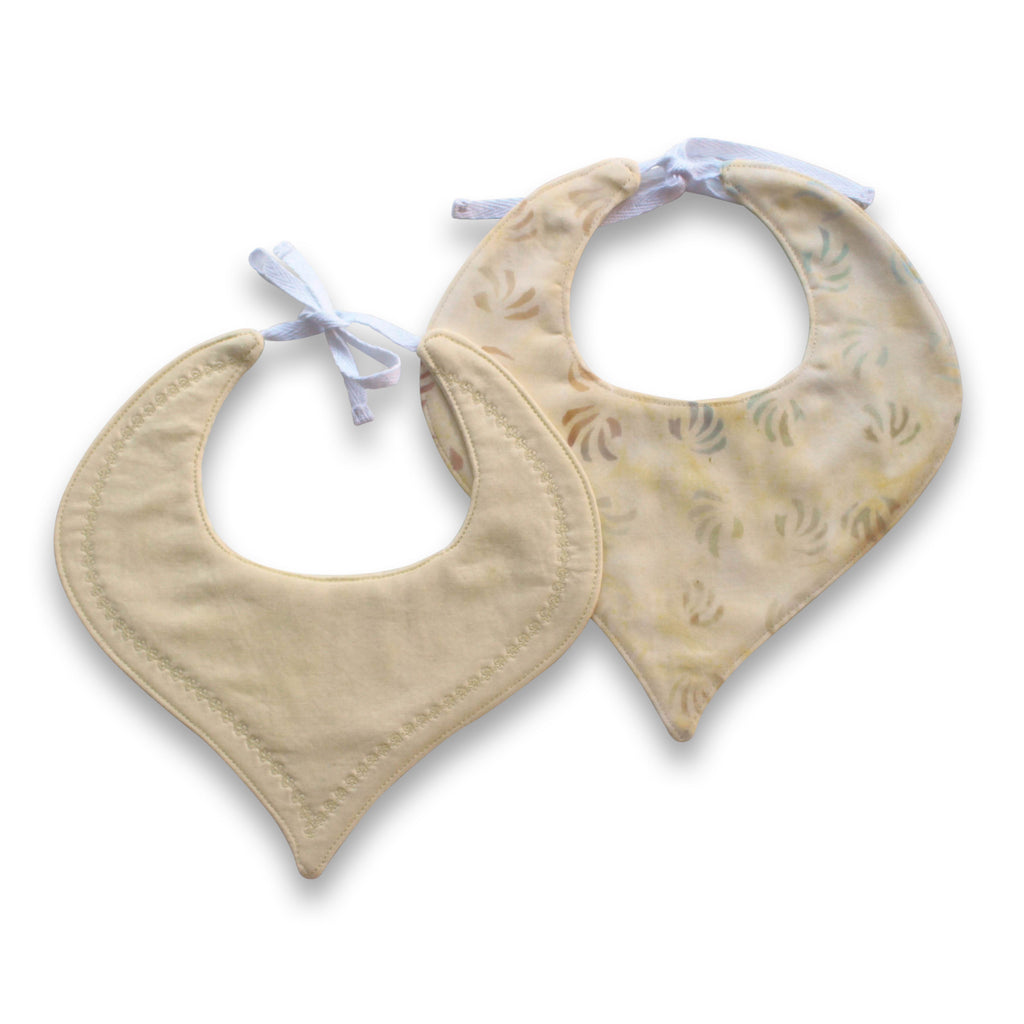 Lemoncello Tear Drop Luxe Bib - Gertrude and the King