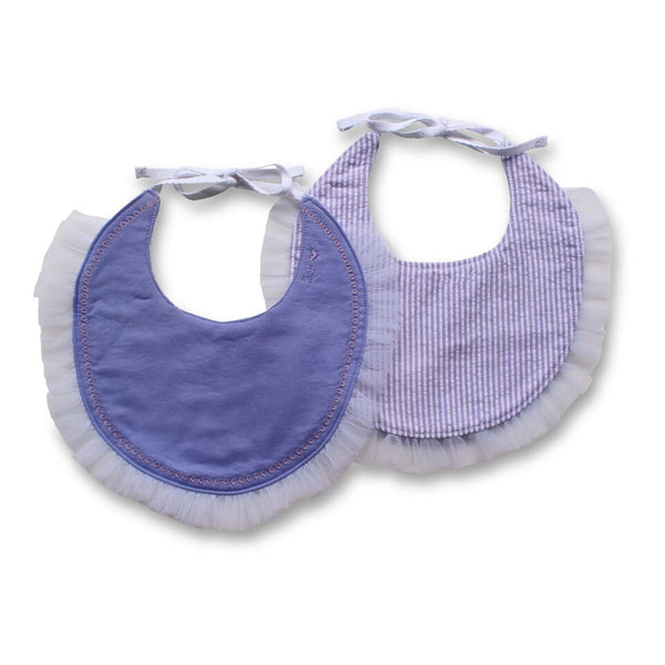 Lily Pretty Collared Bib - Gertrude and the King