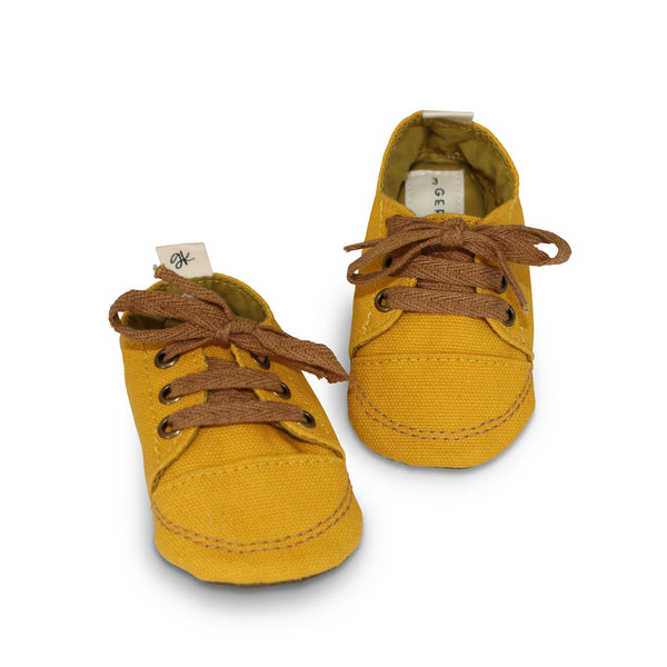 Mustard Soft Sole Sneakers