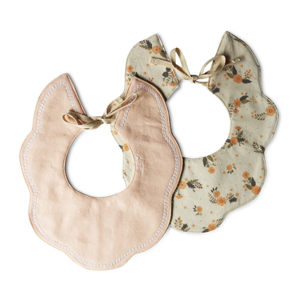 Suzanne Collared Luxe Bib - Gertrude and the King
