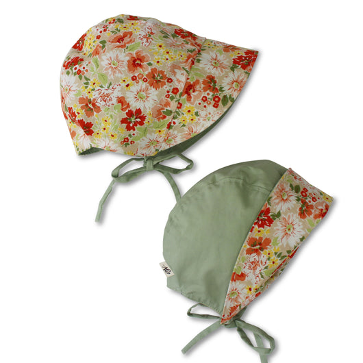 Peaches reversible bonnet