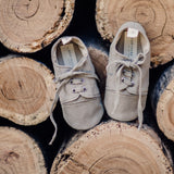 Soft sole baby and toddler shoes - Stone Sneakers