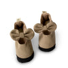 Taupe Soft Sole Mary Janes - Sizes 8 and 9 - Gertrude and the King