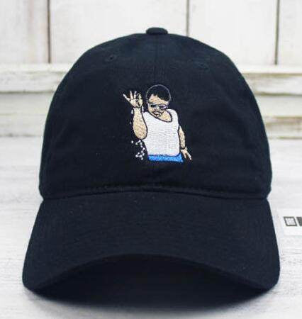 Salt bae embroidery dad hat