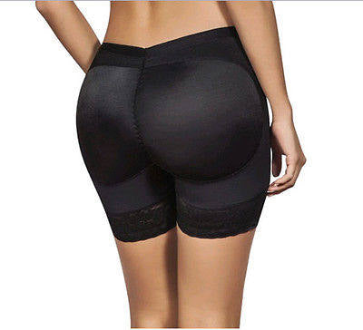 Body shaping padded but lift undergarment shapewear