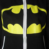 Cool Unisex Superman vs Batman superhero hoodie lounge onesie jumpsuit