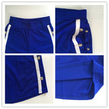 Ladies stripe side split track shorts pants