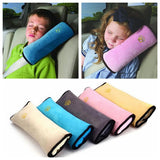 kids Safety Seat Belt Protection Cushion Travel Support Pillow