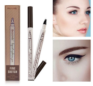 Microblading tattoo style long lasting smude proof eyebrow pencil