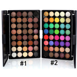 Iconic beauty 40 colors pigmented eyeshadow palette