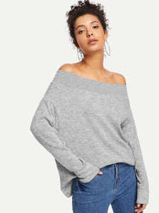 Trendy Off the shoulder fashion top