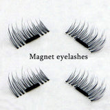 Iconic Beauty 4pcs natural look magnetic false eyelashes extensions