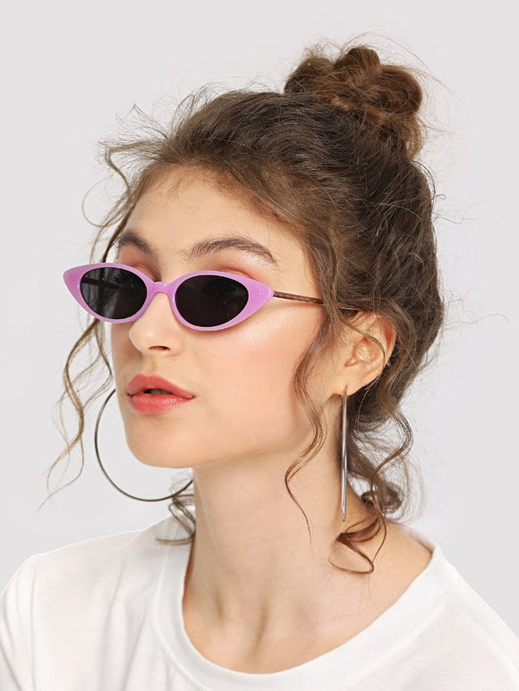 Groovy 90s Retro cateye sunglasses