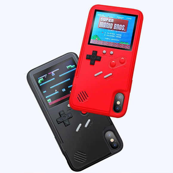 2 in 1 36 retro game gamer phone case iPhone case