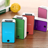 Mini hand held desk air conditioner cooler cooling ac portable fan