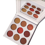 Iconic beauty shimmering pigmented eyeshadow palette