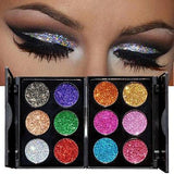 Iconic Beauty Glitter deluxe palette eyeshadow