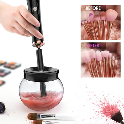 Portable Magic electric makeup brush cleaner and dryer kit