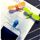 Summer Portable phone mini fan iOS android