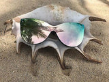 Luxury oversize cat eye sunglasses