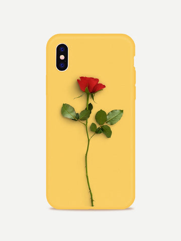 3d rose style deluxe iPhone case