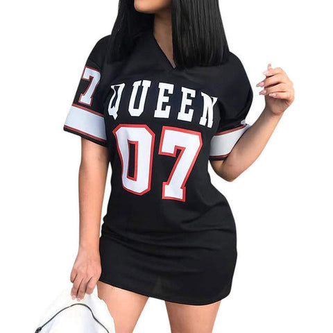 Queen sports tshirt dress