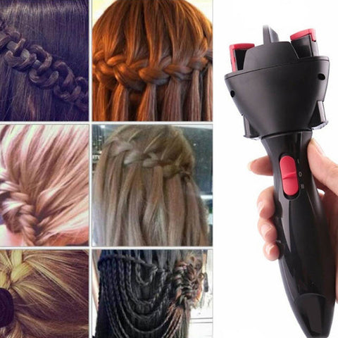 Easy electric hair braider two strand twist stylishing braider tool