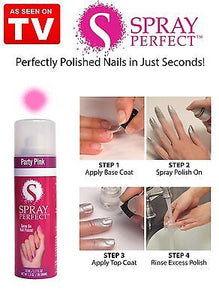 Easy Instant Spray on Nail Polish