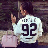 Vogue 92 bomber jacket