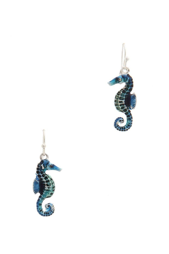 Sea Horse Drop Earring