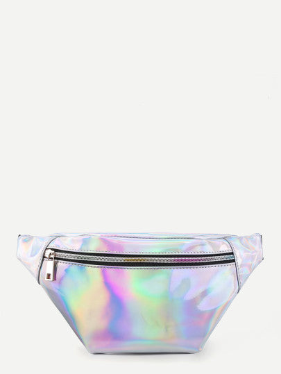 Super retro reflective fanny pack bag