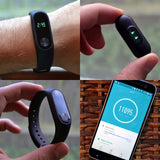Iconic fitness tracker heart rate monitor pedometer fitness smart watch