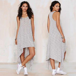"""Love struck"" comfy high low maxi fashion dress - Iconic Trendz Boutique"