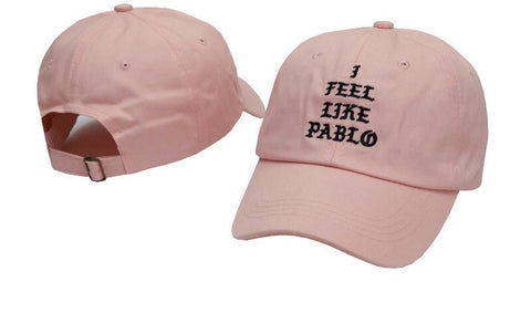 I feel like Pablo baseball dad hat - Iconic Trendz Boutique