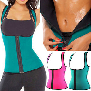Body Shaper Slimming belly Zipper Waist Trainer Cincher Vest