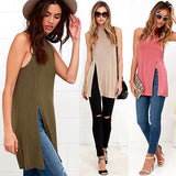 Side split mock neck top - Iconic Trendz Boutique