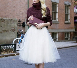 Tulle couture fashion skirt - Iconic Trendz Boutique