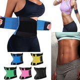 """Icons fitness"" waist trainer cincher waist slimming sweat belt - Iconic Trendz Boutique"