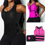 """Icons fitness"" Waist slimming vest corset sweat belt - Iconic Trendz Boutique"