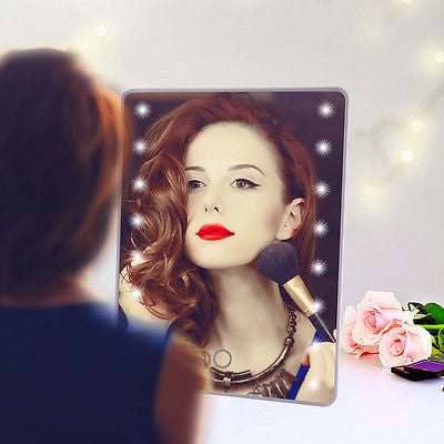 Iconic Beauty Touch screen Makeup led Illuminated Portable Mirror - Iconic Trendz Boutique
